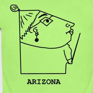 Arizona - Short Sleeve Baby Bodysuit