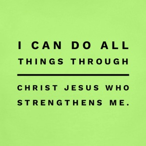 I can do all things through Christ Jesus - Short Sleeve Baby Bodysuit