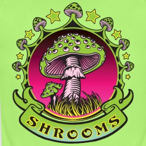 Shrooms - Short Sleeve Baby Bodysuit