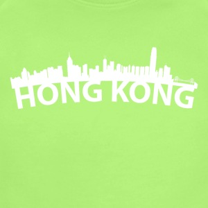 Arc Skyline Of Hong Kong China - Short Sleeve Baby Bodysuit