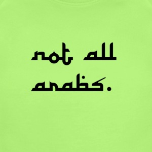 not all arabs - Short Sleeve Baby Bodysuit