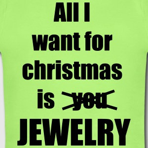 All I want for christmas is you jewelry - Short Sleeve Baby Bodysuit