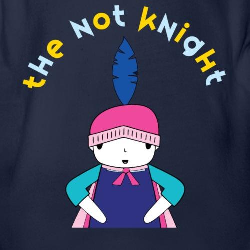 The Not Knight - Organic Short Sleeve Baby Bodysuit