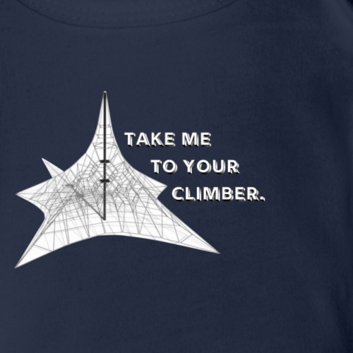 Take Me To Your Climber - Organic Short Sleeve Baby Bodysuit