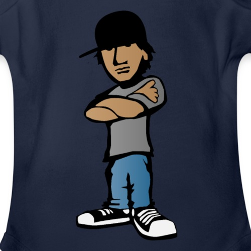 Kid with Attitude - Organic Short Sleeve Baby Bodysuit