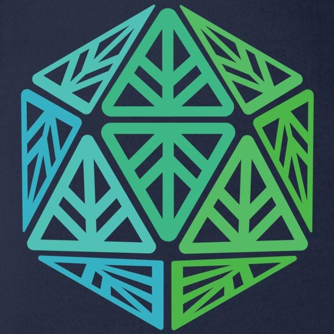 Green Leaf Geek Iconic Logo