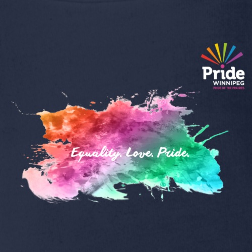Equality. Love. Pride. - Organic Short Sleeve Baby Bodysuit