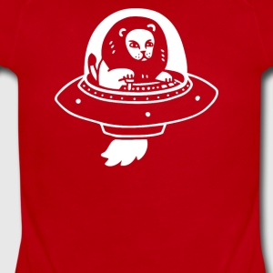 Alion and UFO - Short Sleeve Baby Bodysuit