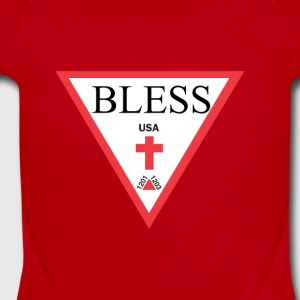 BLESS - Short Sleeve Baby Bodysuit