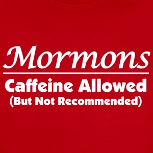 Mormons and Caffeine (Dark) - Short Sleeve Baby Bodysuit