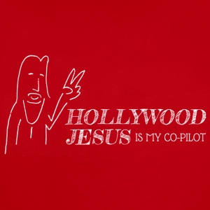 Hollywood Jesus Horizontal (Light) - Short Sleeve Baby Bodysuit