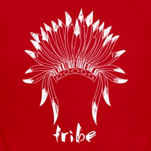 Tribe (Native American White) - Short Sleeve Baby Bodysuit
