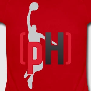 pH RED FADE - Short Sleeve Baby Bodysuit