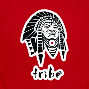 Tribe (Native American w/Outline) - Short Sleeve Baby Bodysuit