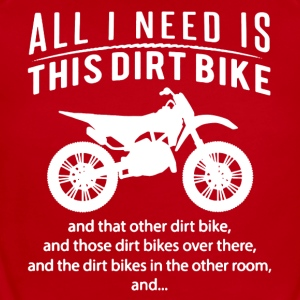 All I Need Is This DIRT BIKE Tee Shirt - Short Sleeve Baby Bodysuit