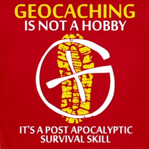Geocaching is Not A Hobby Shirt - Short Sleeve Baby Bodysuit
