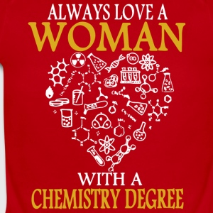 Always Love A Woman With A Chemistry Degree Shirt - Short Sleeve Baby Bodysuit