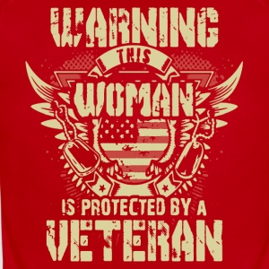 Veteran's Daughter Shirt - Short Sleeve Baby Bodysuit