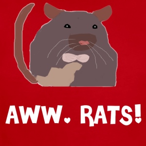 Aww, Rats! - Short Sleeve Baby Bodysuit