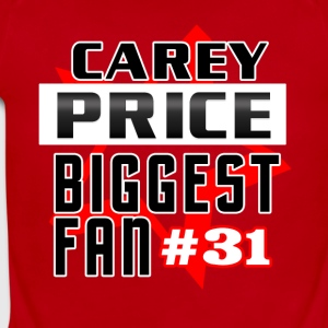 Carey Price 1fan - Short Sleeve Baby Bodysuit