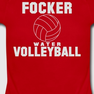 Focker Water Volleyball - Short Sleeve Baby Bodysuit