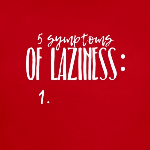 Five symptoms of Laziness - Short Sleeve Baby Bodysuit