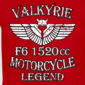 Valkyrie Motorcycle Legend F6 1520cc - Short Sleeve Baby Bodysuit