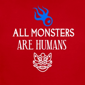 All monsters are humans - Short Sleeve Baby Bodysuit