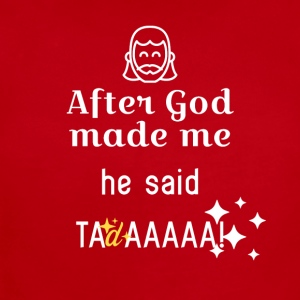 After God made me - Short Sleeve Baby Bodysuit
