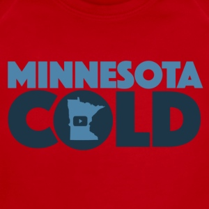 Minnesota Cold Logo - Short Sleeve Baby Bodysuit