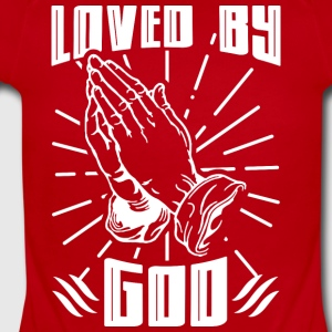 Loved By God - Short Sleeve Baby Bodysuit