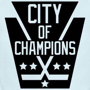 City of Champions - Black - Short Sleeve Baby Bodysuit