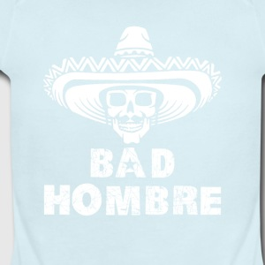 bad_hombre - Short Sleeve Baby Bodysuit