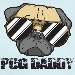 Pug Daddy - Short Sleeve Baby Bodysuit