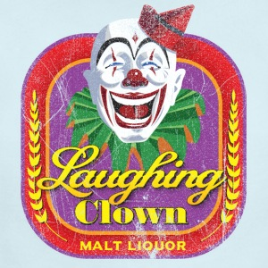 Laughing Clown Malt Liquor - Short Sleeve Baby Bodysuit