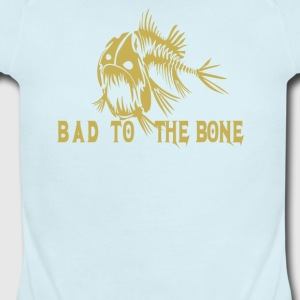Bad to the bone - Short Sleeve Baby Bodysuit