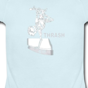 Trash forever - Short Sleeve Baby Bodysuit