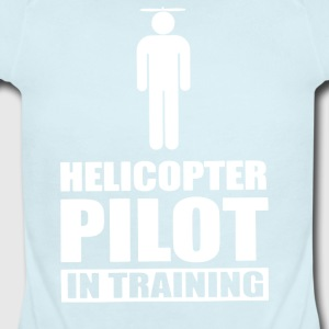 Helicopter Pilot In Training - Short Sleeve Baby Bodysuit