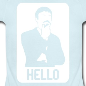 Ashens HELLO - Short Sleeve Baby Bodysuit