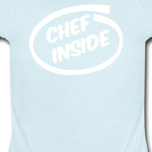 CHEF COOK funny NEW - Short Sleeve Baby Bodysuit