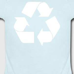 Recycle Symbol - Short Sleeve Baby Bodysuit