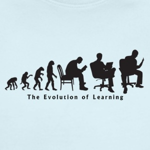 Learning_Evolution - Short Sleeve Baby Bodysuit
