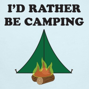 Rather Be Camping - Short Sleeve Baby Bodysuit