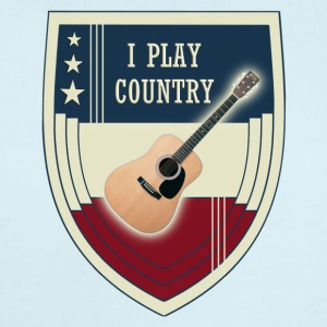 i play country - Short Sleeve Baby Bodysuit