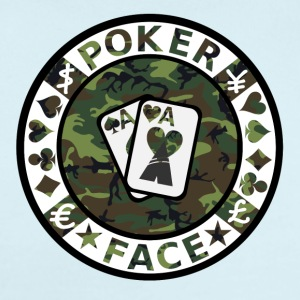 POKER FACE - Short Sleeve Baby Bodysuit