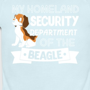 Beagle Shirt - Short Sleeve Baby Bodysuit