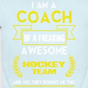 I Am A Coach T Shirt - Short Sleeve Baby Bodysuit