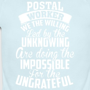 Postal Worker T Shirt - Short Sleeve Baby Bodysuit