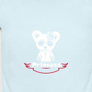 princess - Short Sleeve Baby Bodysuit