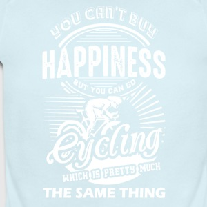 Cycling Happiness Shirt - Short Sleeve Baby Bodysuit